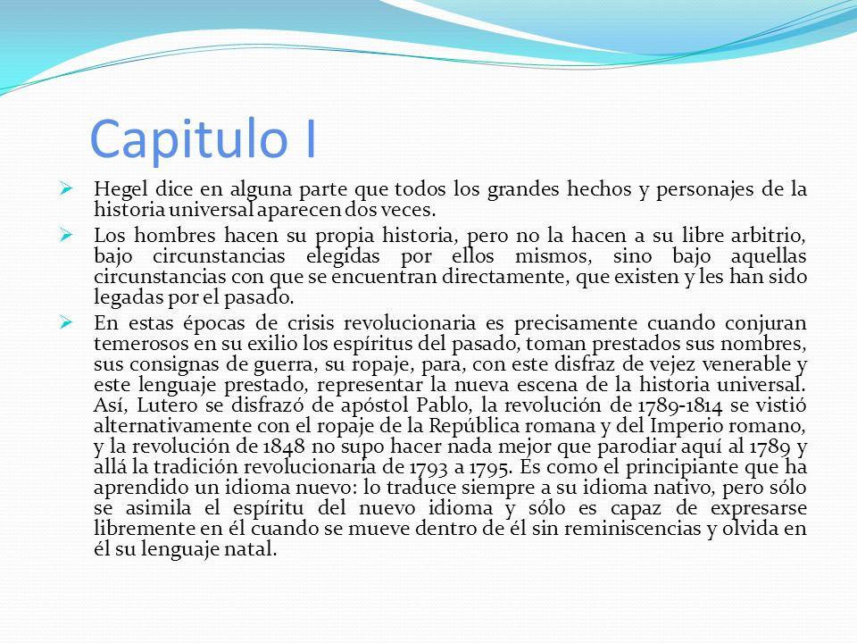 Capítulo III Período de: La vida de la república constitucional o parlamentaria.