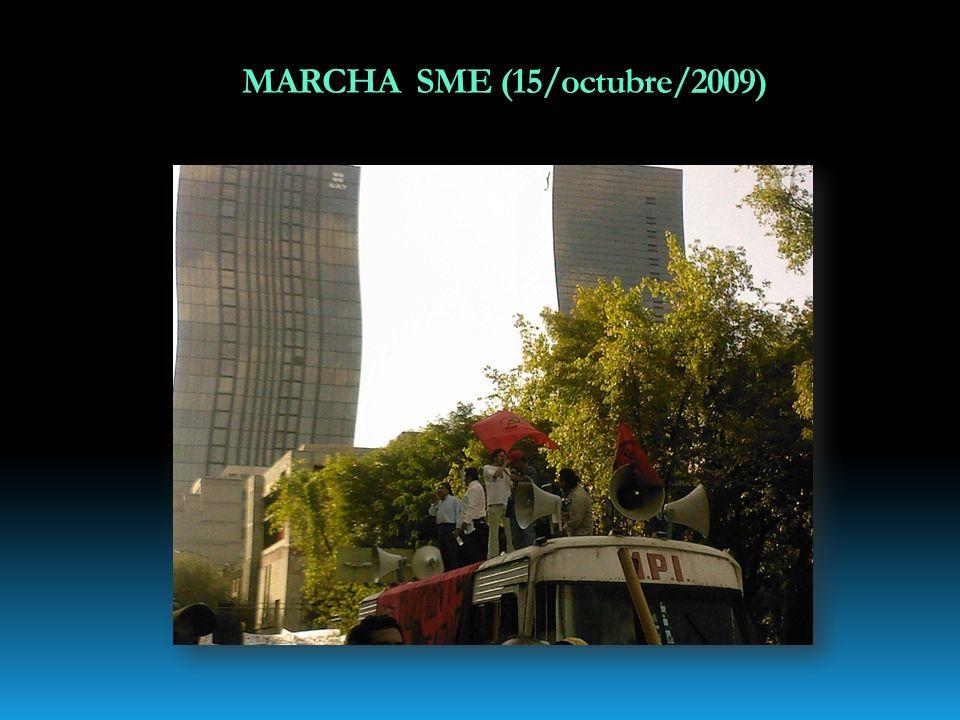MARCHA SME (15/octubre/2009)