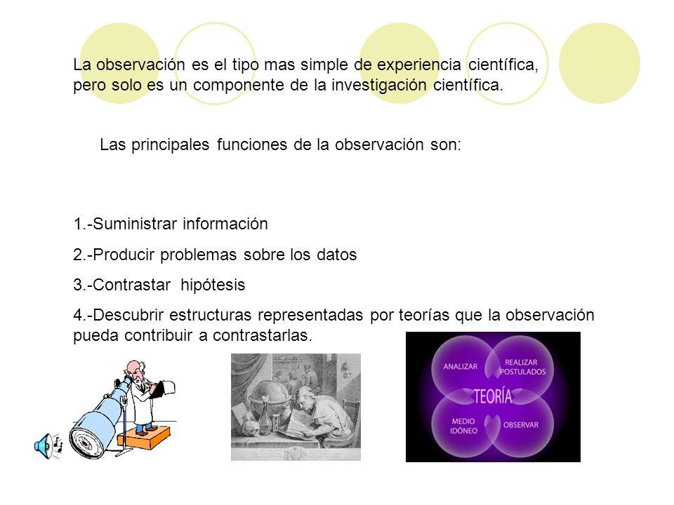 La observación y el experimento científico no recogen datos sensibles, sino datos objetivos y controlables formulados en un lenguaje impersonal. Todos