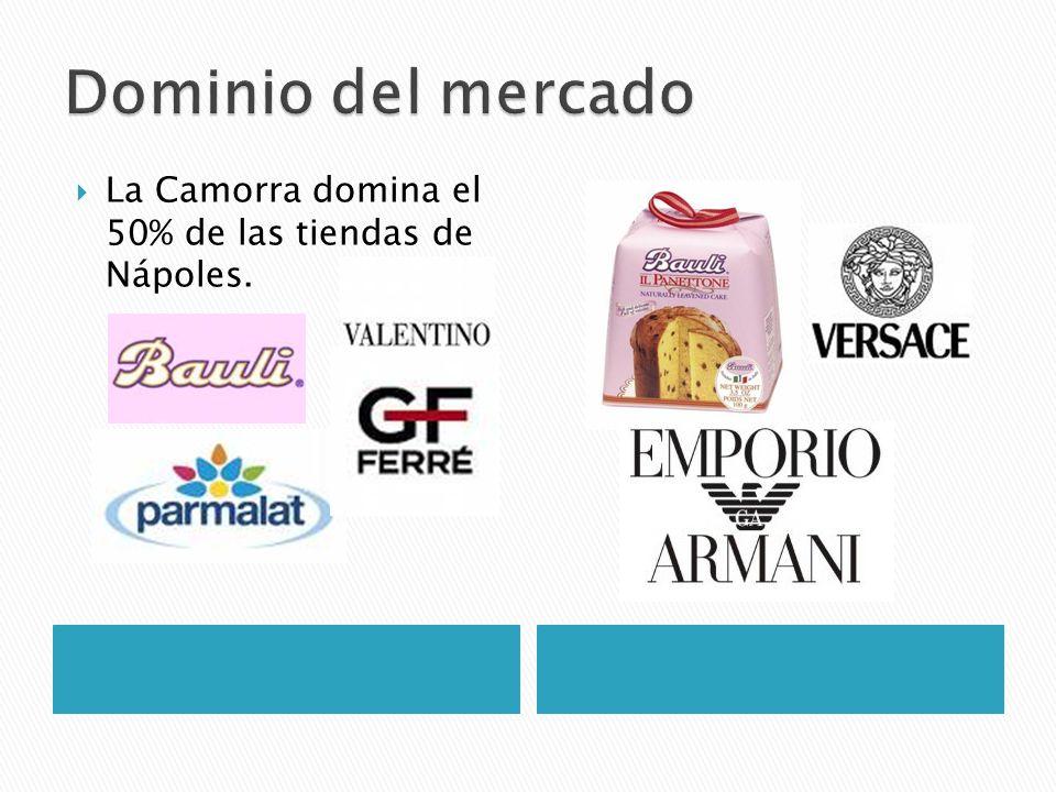 La Camorra domina el 50% de las tiendas de Nápoles.