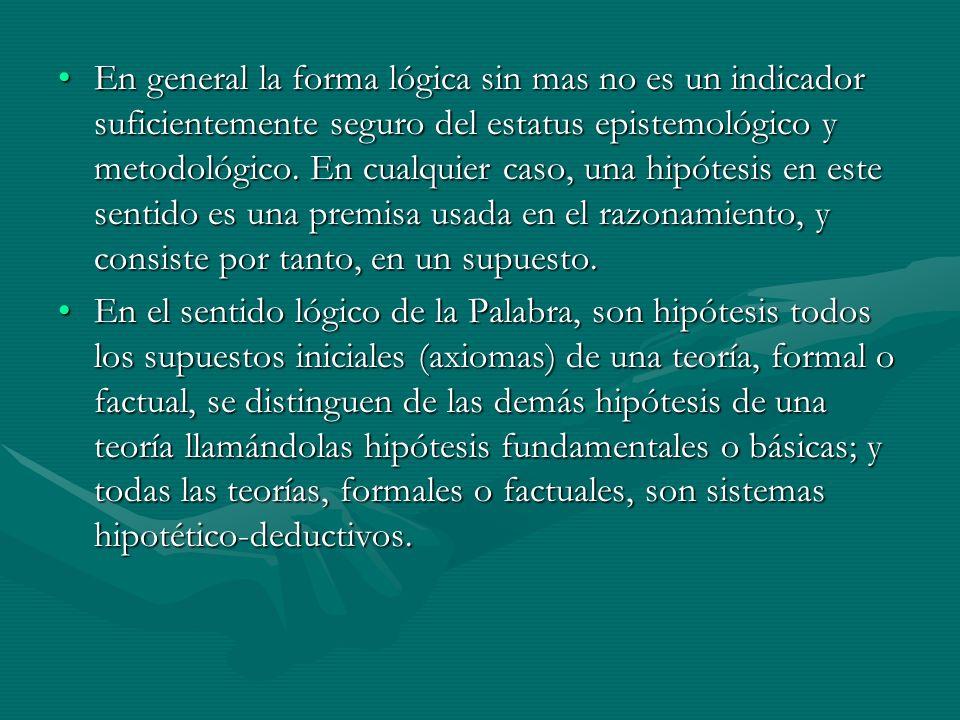 Los presupuestos son hipótesis en el sentido lógico de la palabra, o sea, supuestos básicos, pueden dividirse en genéricos y específicos.Los presupuestos son hipótesis en el sentido lógico de la palabra, o sea, supuestos básicos, pueden dividirse en genéricos y específicos.