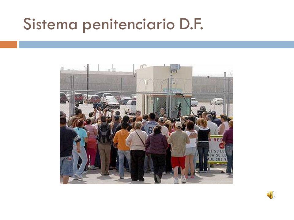 Sistema penitenciario D.F.