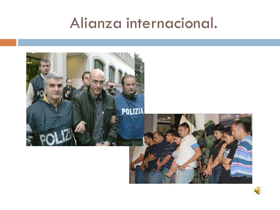 Alianza internacional.