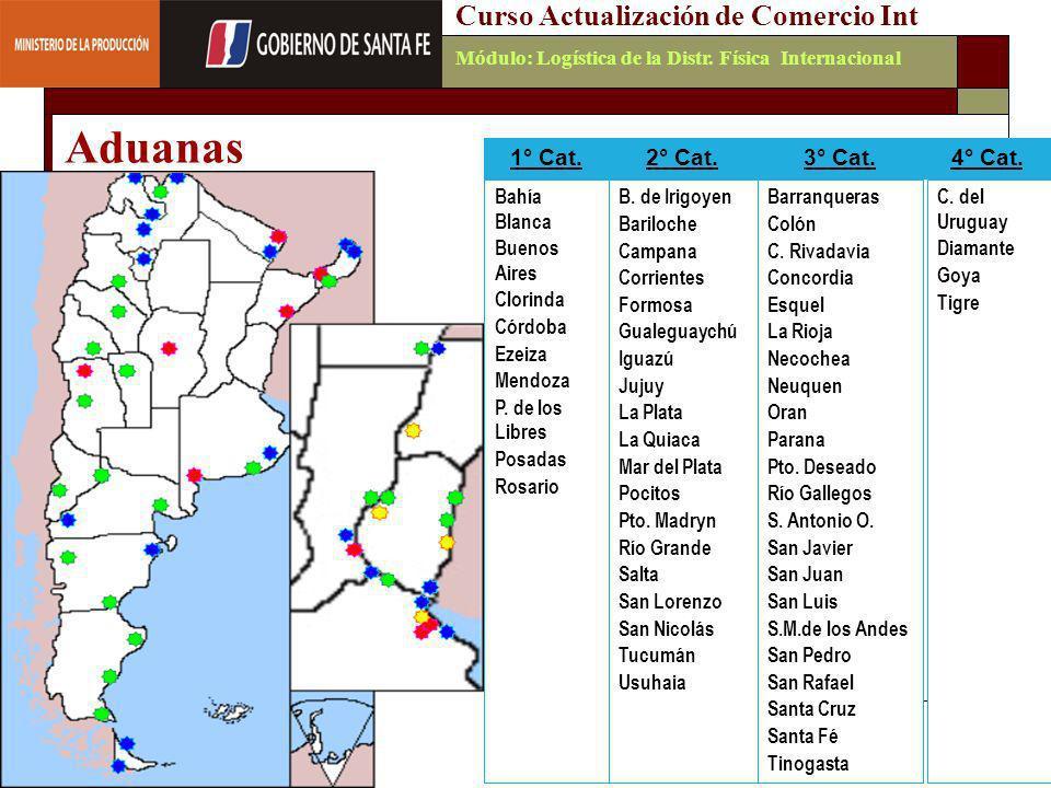 Emilio Martínez - 200635 FOREIGN AFFAIRS Consulting Group Curso Actualización de Comercio IntMódulo: Logística de la Distr. Física Internacional Aduan
