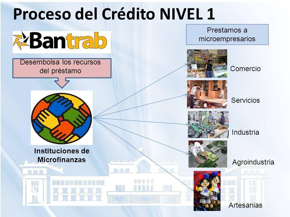 Desembolsa los recursos del préstamo Instituciones de Microfinanzas Comercio Servicios Industria Agroindustria Artesanias Prestamos a microempresarios