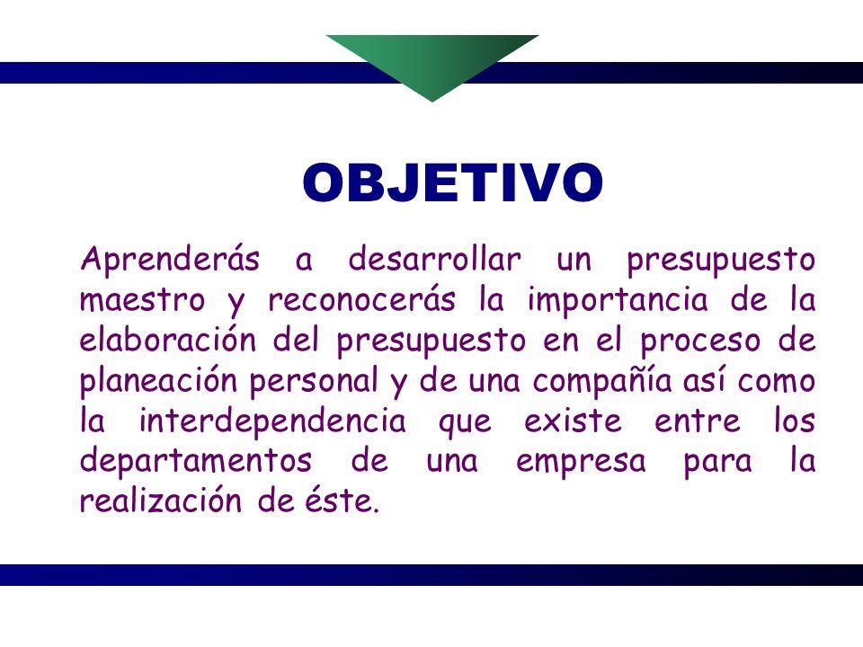 EL PRESUPUESTO VINCULO ENTRE PLANEACION Y ACCION Por: Blanca Tapia S.