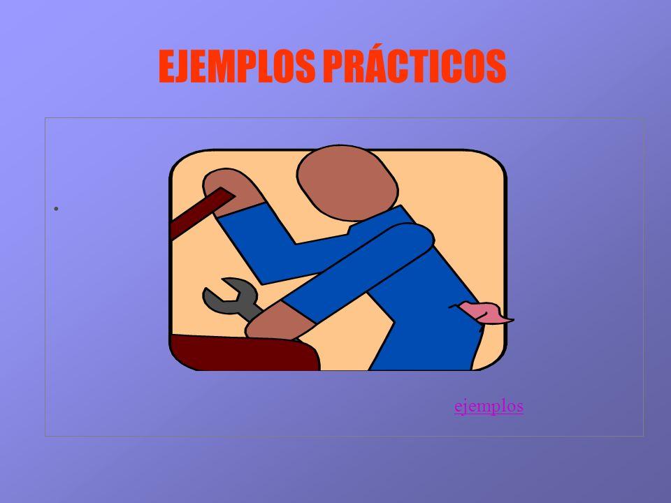 EJEMPLOS PRÁCTICOS. ejemplos