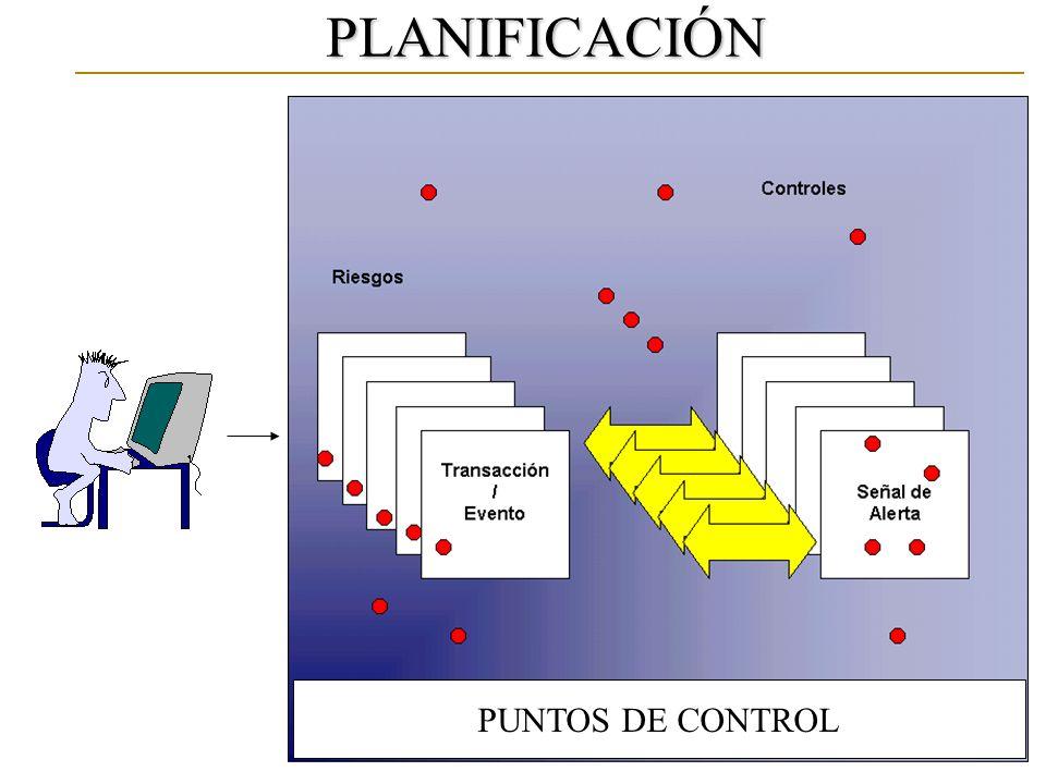 PUNTOS DE CONTROL PLANIFICACIÓN