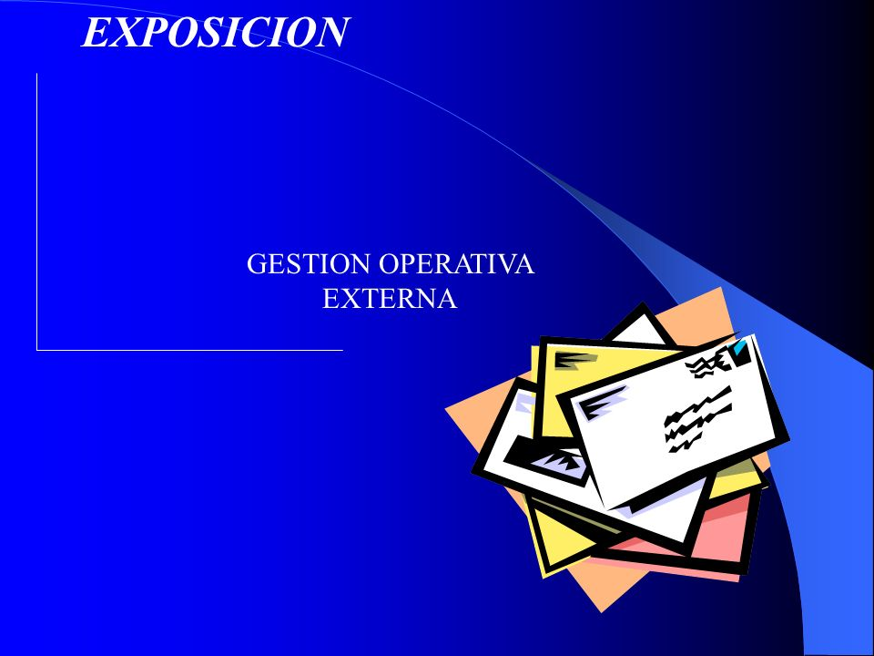 EXPOSICION GESTION OPERATIVA EXTERNA