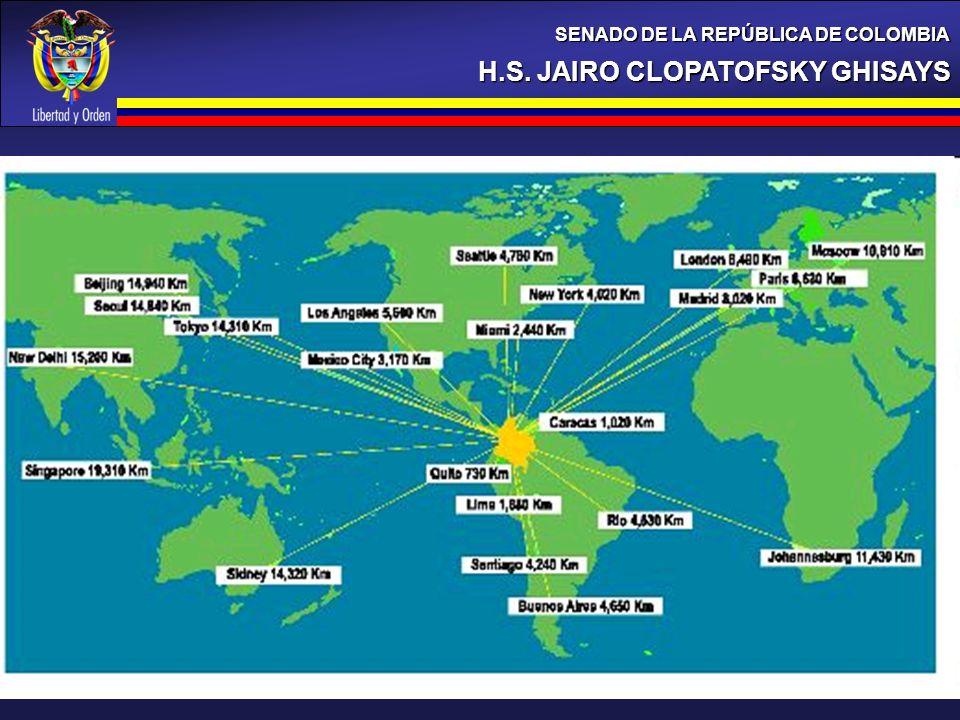 H.S. JAIRO CLOPATOFSKY GHISAYS SENADO DE LA REPÚBLICA DE COLOMBIA