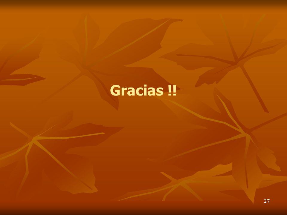 27 Gracias !!