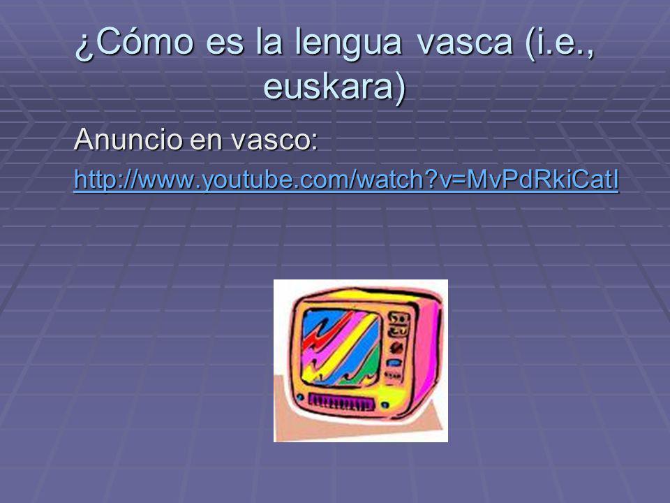 ¿De dónde viene el nombre de la lengua vasca.