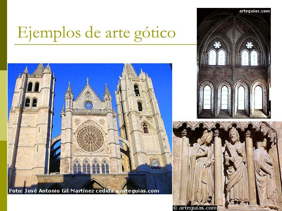Ejemplos de arte gótico