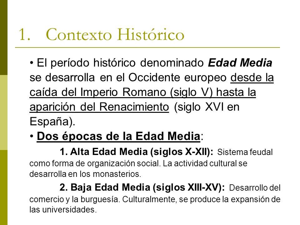literatura de la epoca feudal espanola: