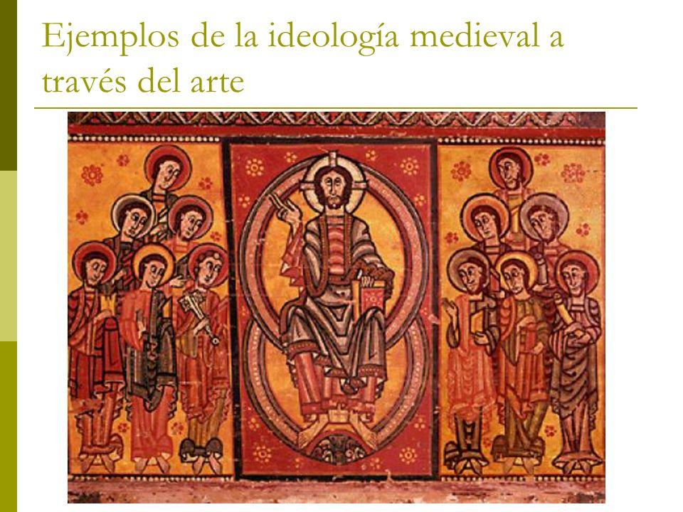 Ejemplos de la ideología medieval a través del arte