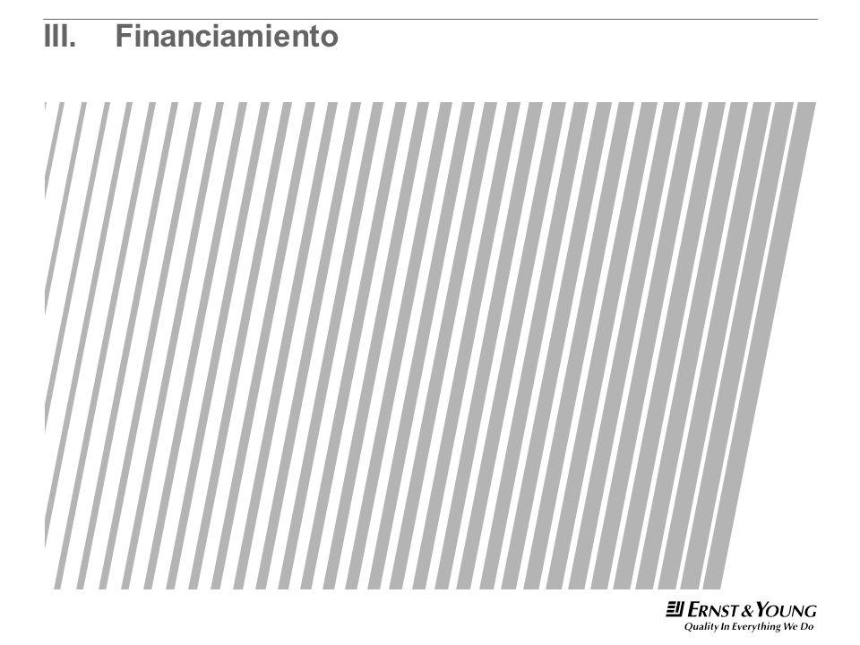 III.Financiamiento