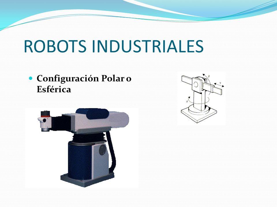 ROBOTS INDUSTRIALES Configuración Polar o Esférica