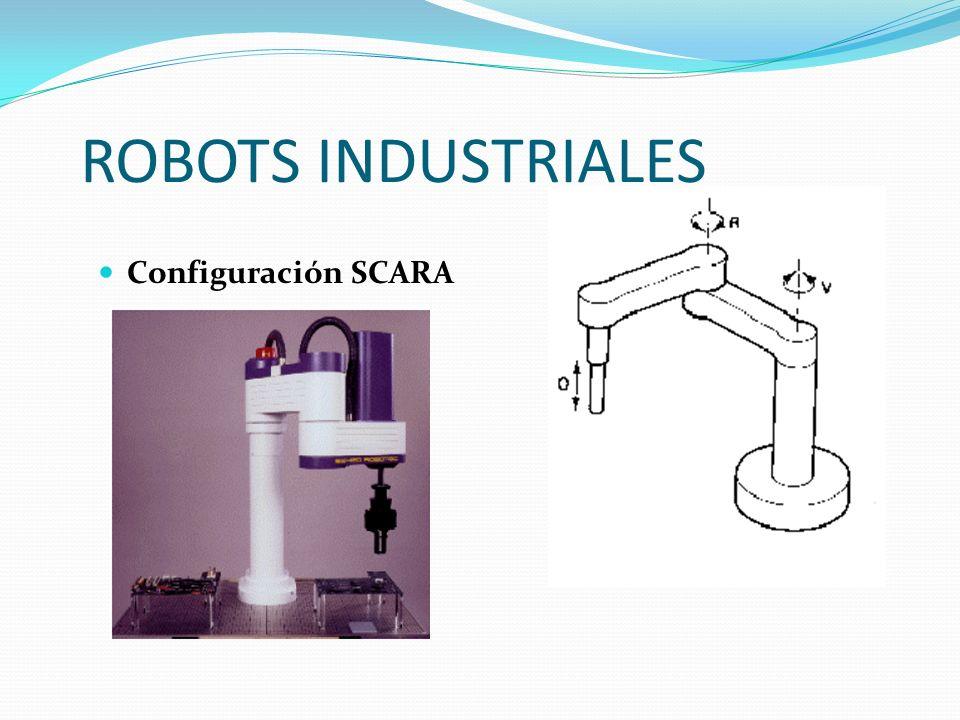 ROBOTS INDUSTRIALES Configuración SCARA