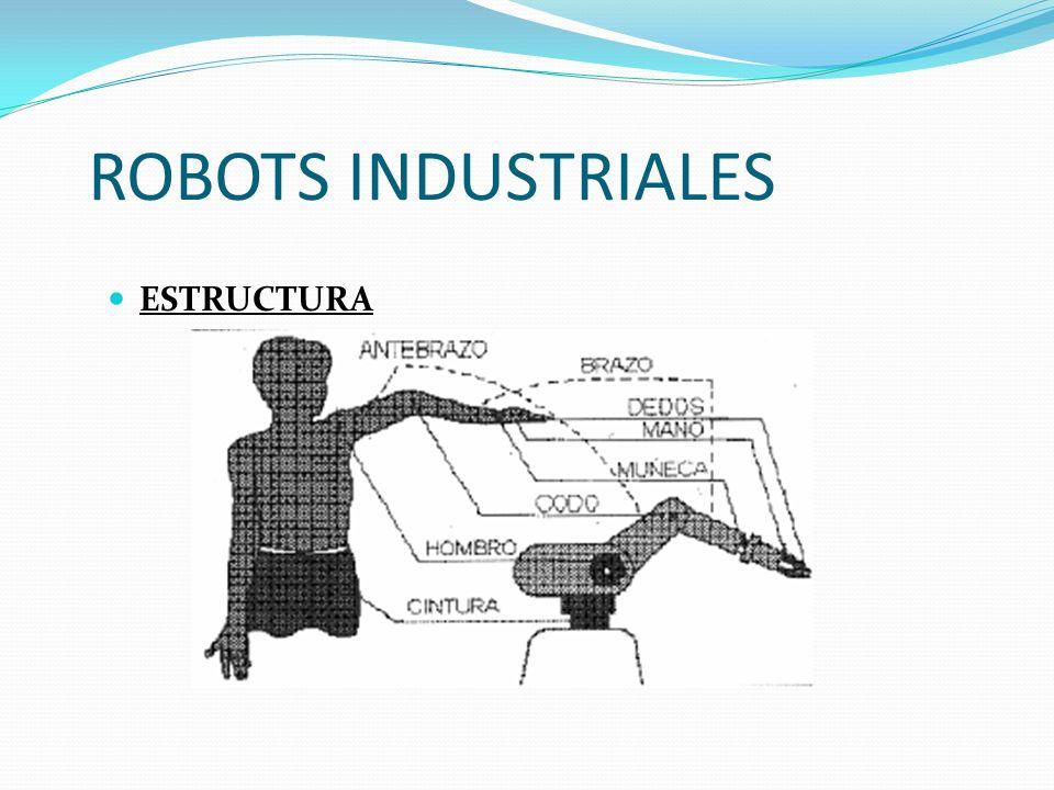ROBOTS INDUSTRIALES ESTRUCTURA