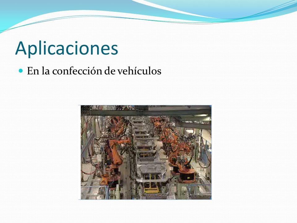Aplicaciones En la confección de vehículos