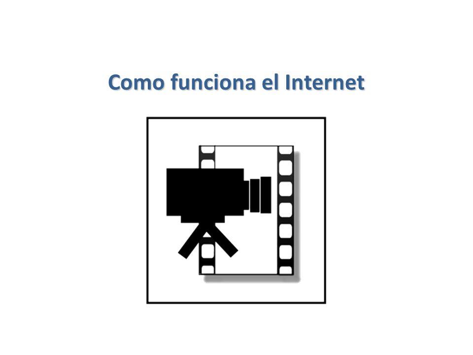 Como funciona el Internet 33 / 56