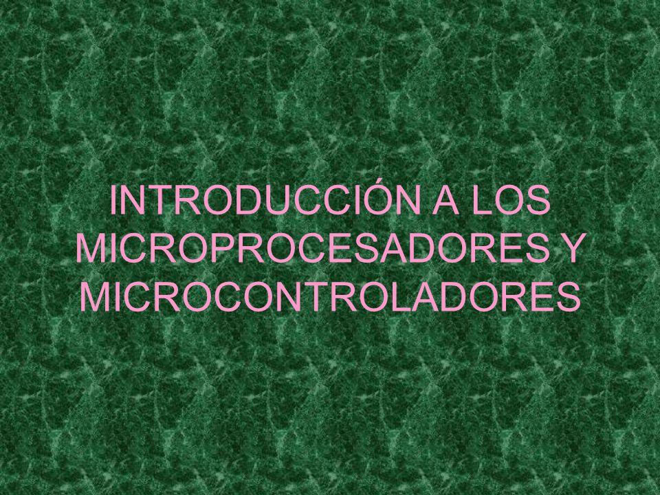 Arquitectura RISC R educed I nstructio S et C omputer Pocas instrucciones Más fácil de aprender el método de programación Mayor tamaño del código de programa Parte I Microprocesadores