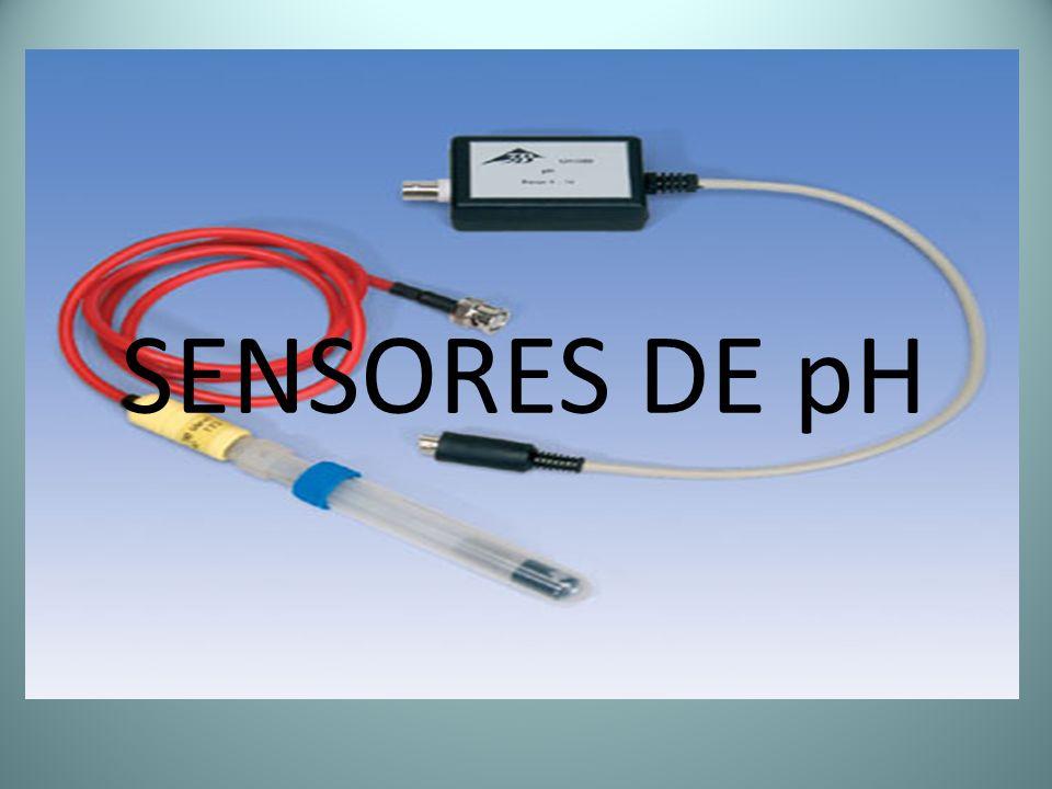 SENSORES DE pH