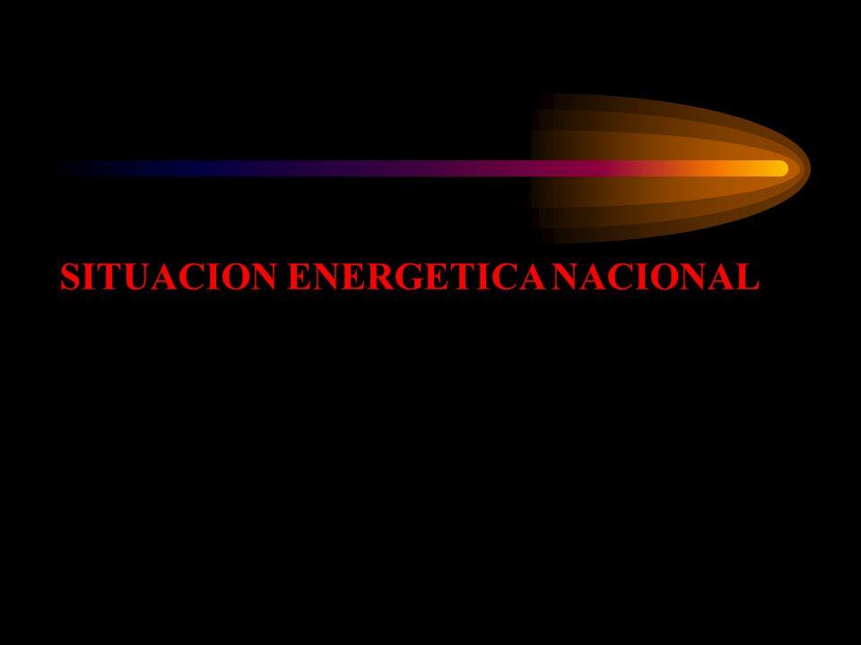 SITUACION ENERGETICA NACIONAL