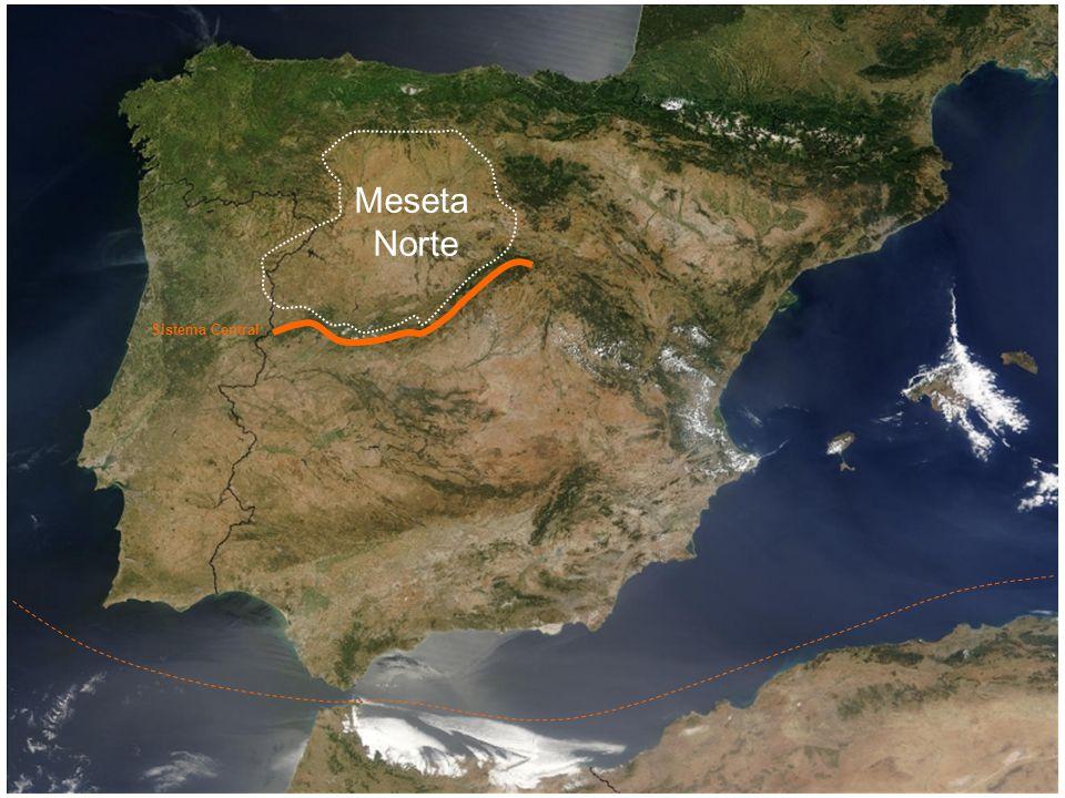 Meseta Norte Meseta Sur Sistema Central