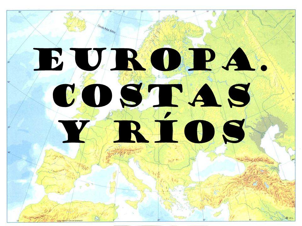EUROPA. COSTAS Y RÍOS