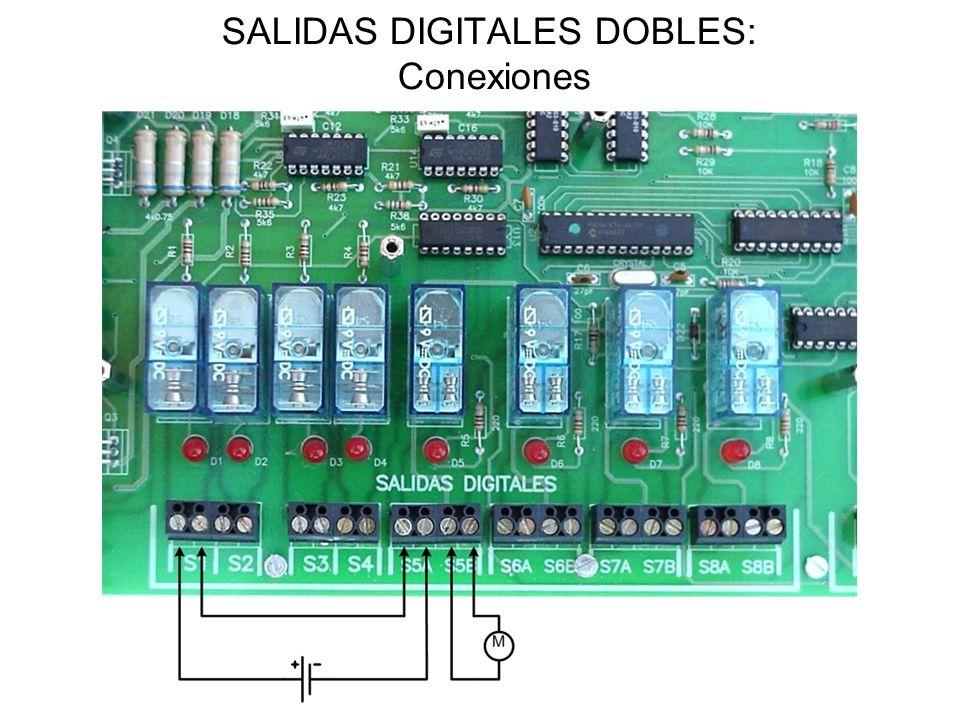 SALIDAS DIGITALES DOBLES: Conexiones