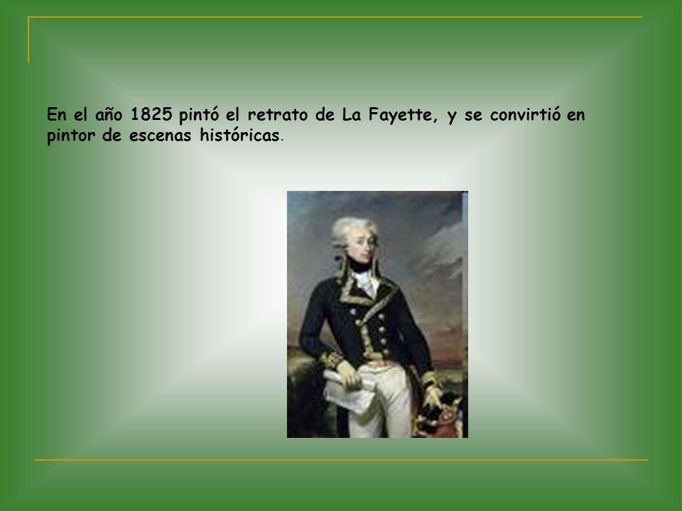 En 1832 inventó el telégrafo, por el cual el emisor mediante la presión de los dedos permitía el paso de la corriente durante un lapso determinado y luego lo anulaba.