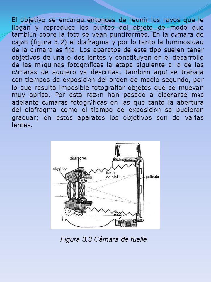 El objetivo se encarga entonces de reunir los rayos que le llegan y reproduce los puntos del objeto de modo que tambi é n sobre la foto se vean puntif