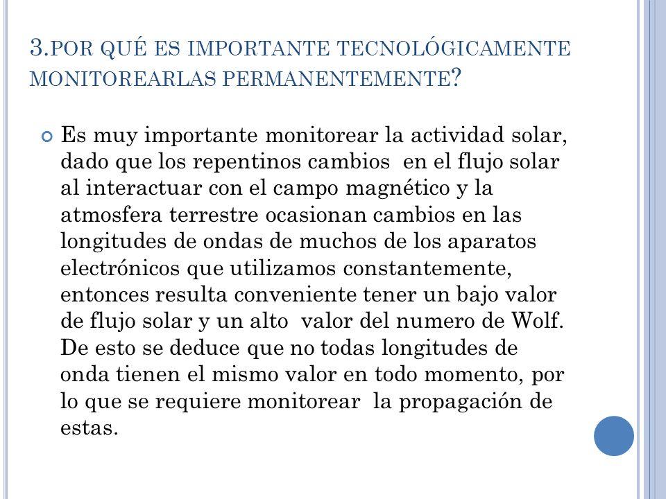 3. POR QUÉ ES IMPORTANTE TECNOLÓGICAMENTE MONITOREARLAS PERMANENTEMENTE .