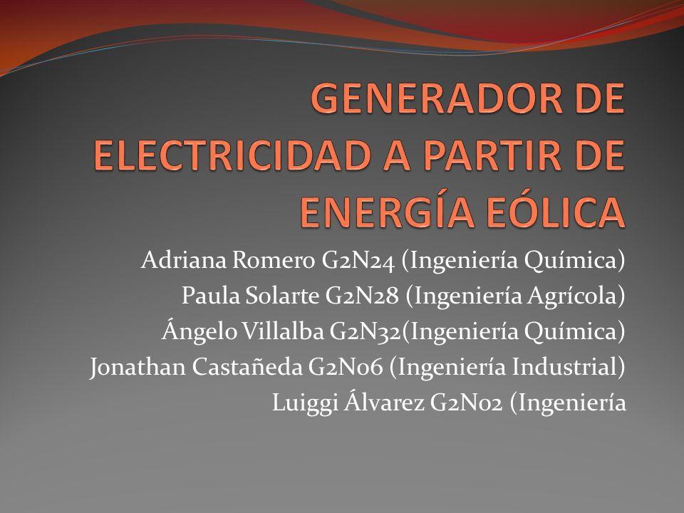 Adriana Romero G2N24 (Ingeniería Química) Paula Solarte G2N28 (Ingeniería Agrícola) Ángelo Villalba G2N32(Ingeniería Química) Jonathan Castañeda G2N06