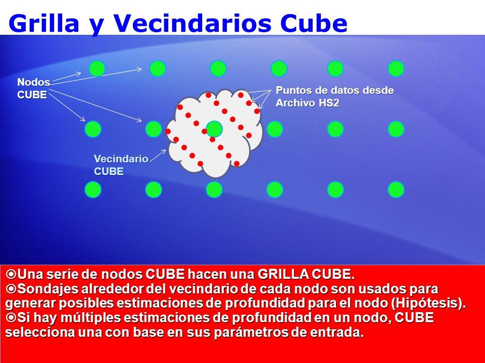 Grilla y Vecindarios Cube Una serie de nodos CUBE hacen una GRILLA CUBE. Una serie de nodos CUBE hacen una GRILLA CUBE. Sondajes alrededor del vecinda