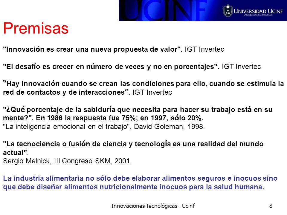 Innovaciones Tecnológicas - Ucinf8 Premisas