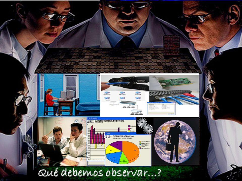 Innovaciones Tecnológicas - Ucinf13 Qué debemos observar…?