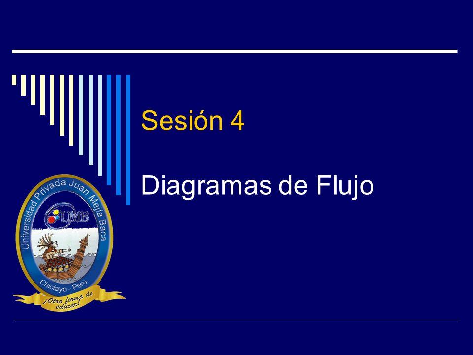 Sesión 4 Diagramas de Flujo