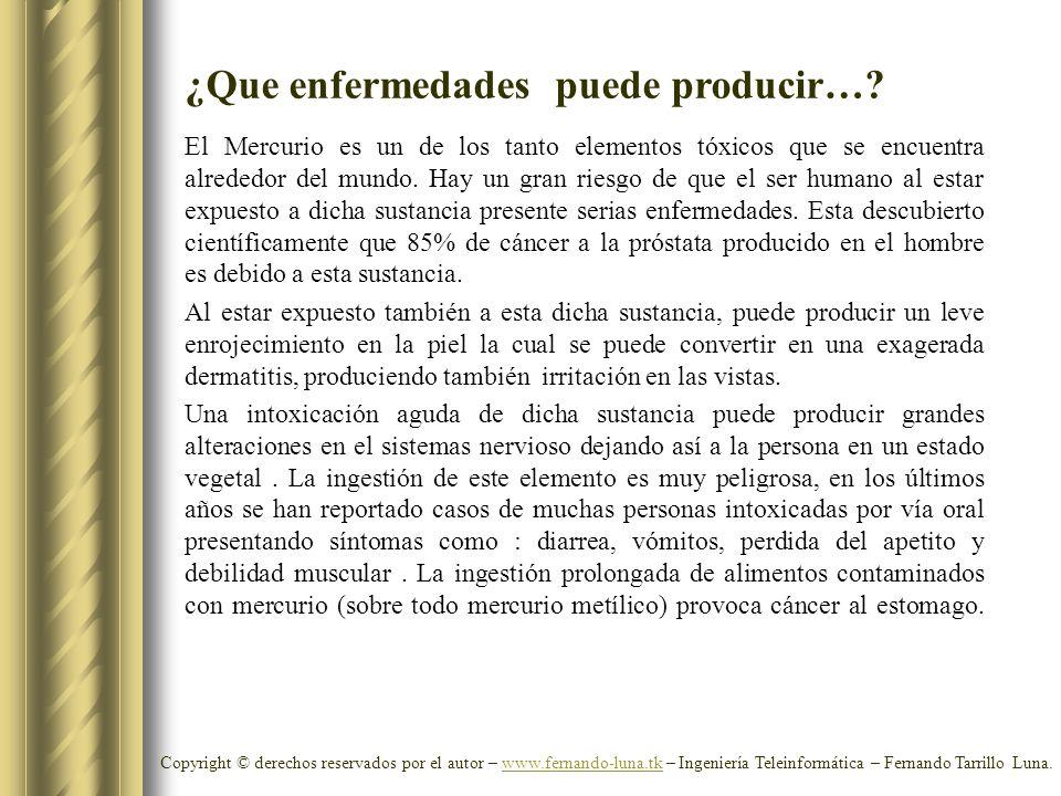 Copyright © derechos reservados por el autor – www.fernando-luna.tk – Ingeniería Teleinformática – Fernando Tarrillo Luna.www.fernando-luna.tk ¿Que en