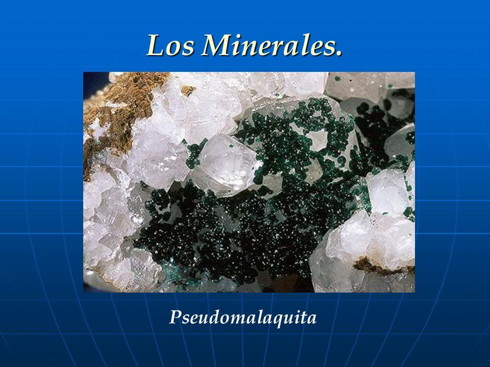 Los Minerales. Pseudomalaquita