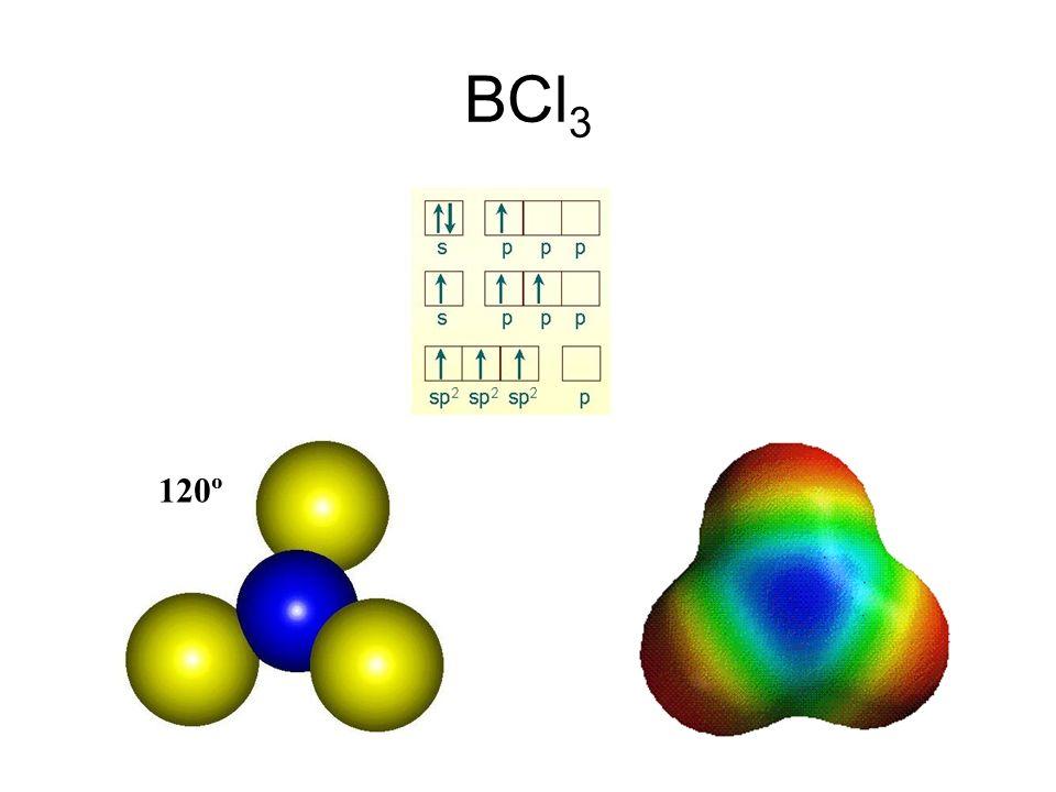 BCl 3 120º