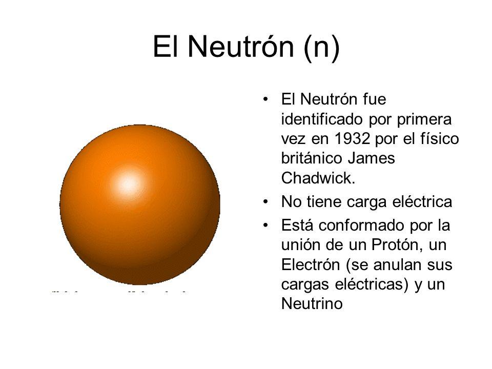 Gluones Hay tres quarks en cada protón. Los quarks se mantienen unidos mediante otras partículas llamadas Gluones, que no tienen masa ni carga eléctri