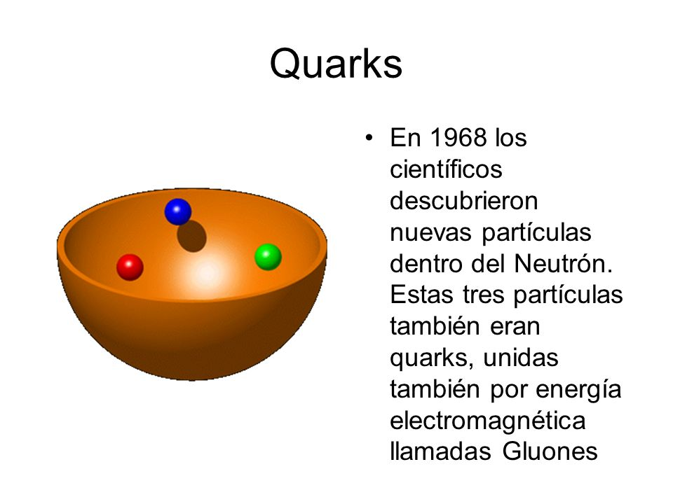 El Neutrón (n) El Neutrón fue identificado por primera vez en 1932 por el físico británico James Chadwick. No tiene carga eléctrica Está conformado po