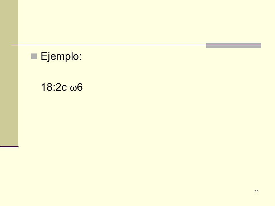 Ejemplo: 18:2c 6 11