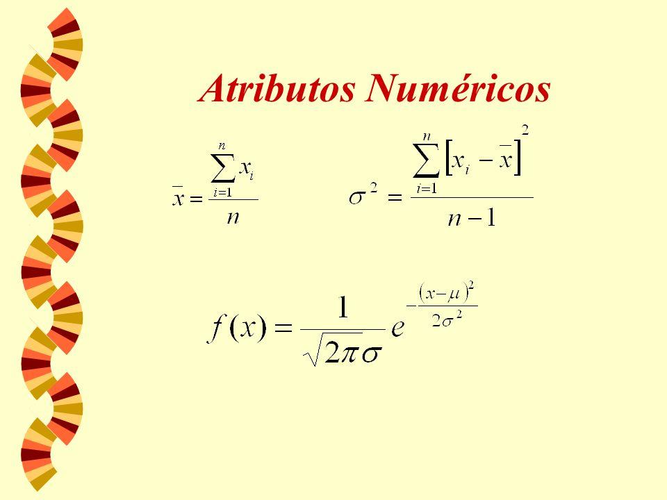 Atributos Numéricos