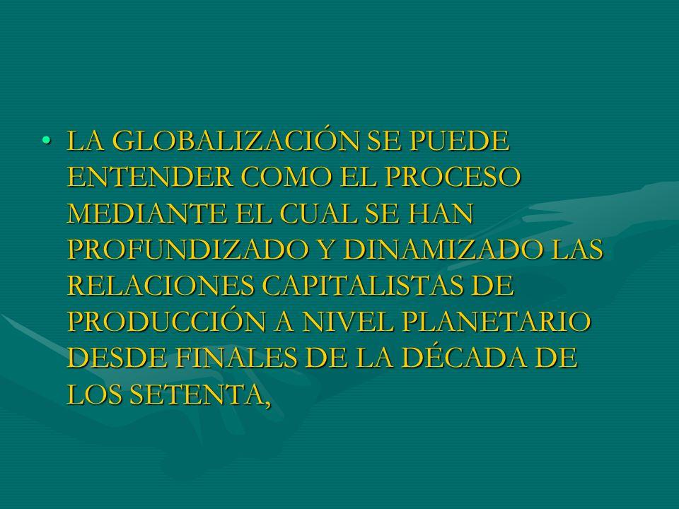 ESTE PROCESO DE PROFUNDIZACIÓN DE LAS RELACIONES CAPITALISTAS DE PRODUCCIÓN SE HA OPERADO SOBRE LO QUE CASTELLS (1999) DENOMINA LA SOCIEDAD DE LA INFORMACIÓNESTE PROCESO DE PROFUNDIZACIÓN DE LAS RELACIONES CAPITALISTAS DE PRODUCCIÓN SE HA OPERADO SOBRE LO QUE CASTELLS (1999) DENOMINA LA SOCIEDAD DE LA INFORMACIÓN