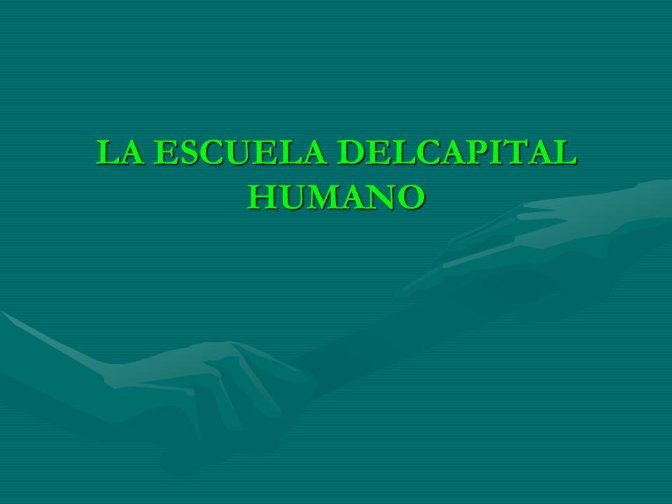 LA TESIS FUNDAMENTAL DE LA TEORÍA DEL CAPITAL HUMANO, PLANTEA QUE LAS EXPECTATIVAS DE MOVILIDAD SOCIAL DE LA POBLACIÓN SE ESTRUCTURAN SOBRE LAS OPORTUNIDADES DE EMPLEO QUE PROPORCIONA LA EDUCACIÓN.LA TESIS FUNDAMENTAL DE LA TEORÍA DEL CAPITAL HUMANO, PLANTEA QUE LAS EXPECTATIVAS DE MOVILIDAD SOCIAL DE LA POBLACIÓN SE ESTRUCTURAN SOBRE LAS OPORTUNIDADES DE EMPLEO QUE PROPORCIONA LA EDUCACIÓN.