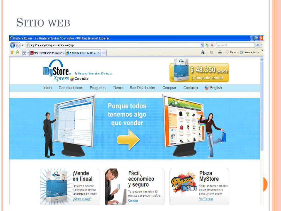 S ITIO WEB