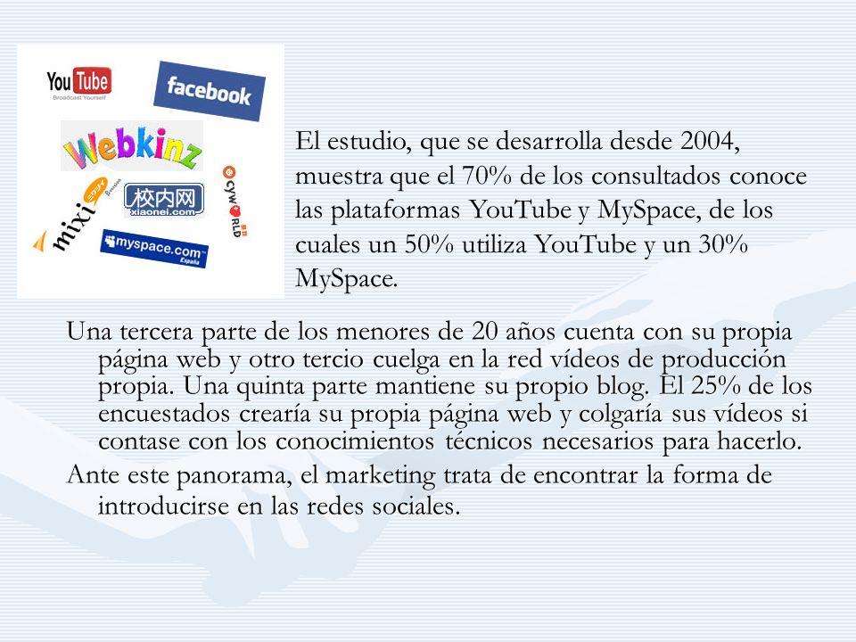 Marketing en la Web 2.0 Estos cambios son los que dan lugar al fenómeno que está marcando el devenir del marketing: la entrada en escena de un consumidor activo.